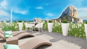 apartment en calpe · playa-de-arenal 261000€
