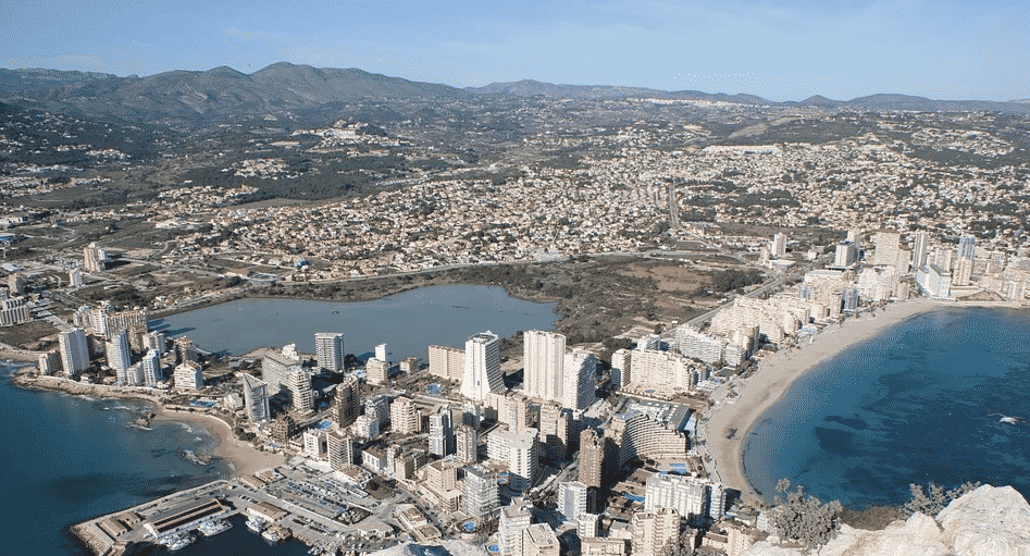 Apartments for sale in Calpe Spain