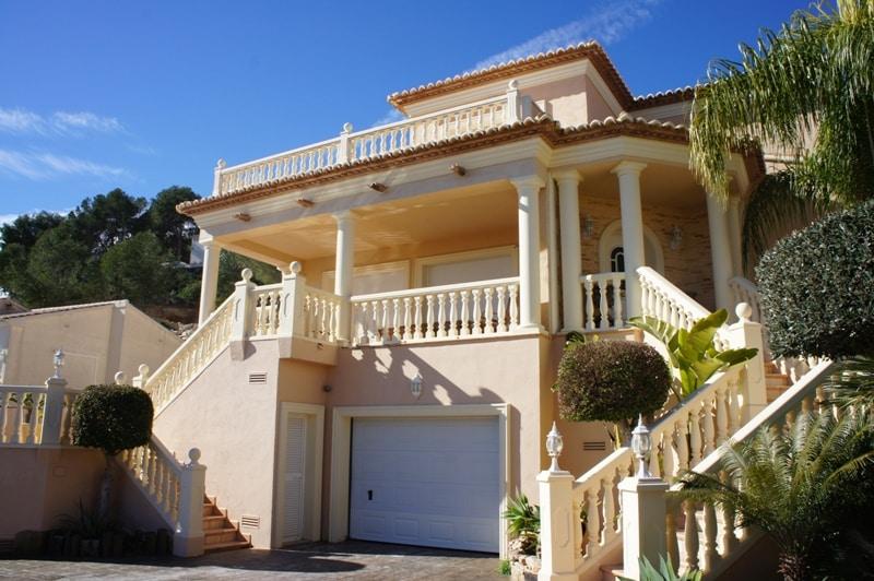 Bijzonder huis in Calpe, unieke sensaties