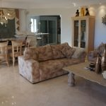 Living room in luxury villa in Calpe, Cucarres area