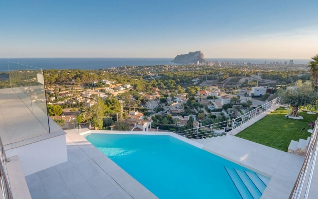 Enjoy a property for sale in Benissa Costa with the best views