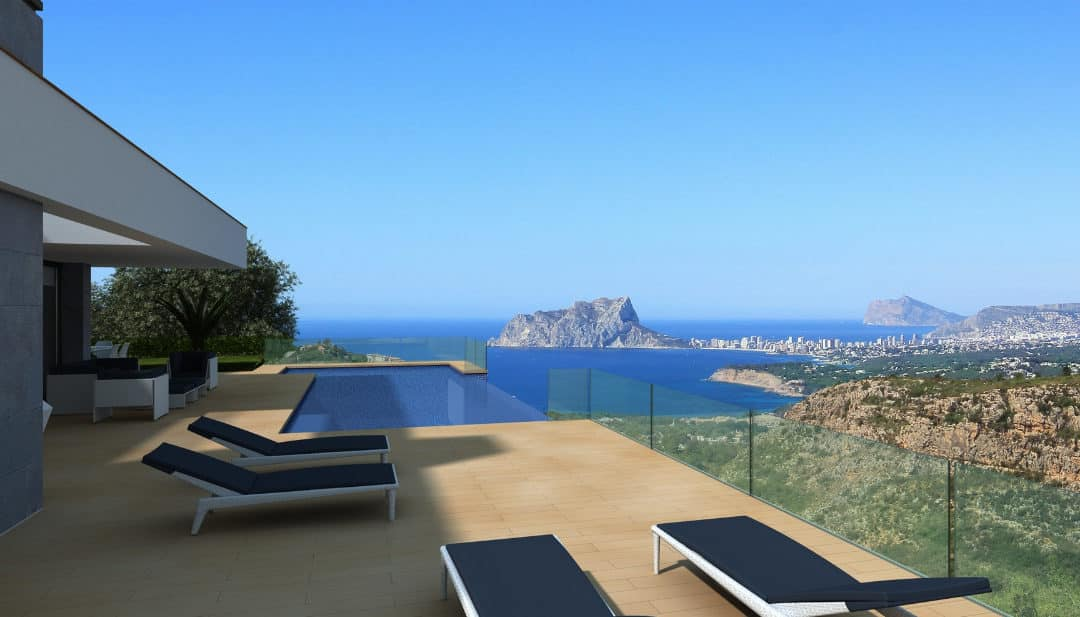 Villas for sale in Calpe that will improve your lifestyle